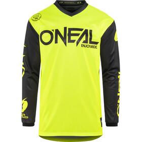 ONeal Threat maglietta a maniche lunghe Uomo, RIDER neon yellow